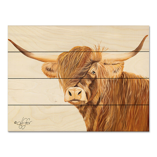 Diane Fifer DF105PAL - The Philosopher Ox, Farm, Portrait from Penny Lane