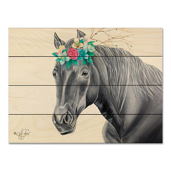 Diane Fifer DF113PAL - It's 'Mane'ly Me Horse, Flowers, Crown from Penny Lane
