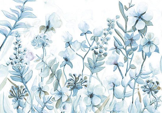 Dogwood DOG116 - Indigo Dance - Flowers, Blue, Wildflowers, Neutral from Penny Lane Publishing