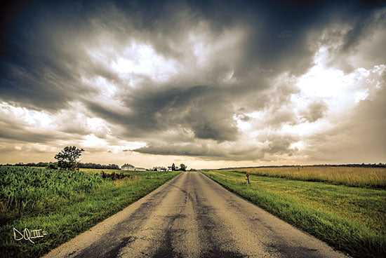 Donnie Quillen DQ142 - Embrace the Storm III Storm, Weather, Clouds, Road, Path, Landscape from Penny Lane