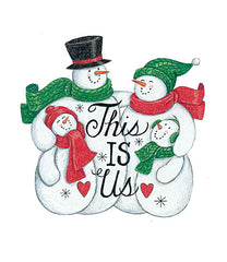 DS1722 - This is Us Snowman - 12x16