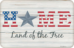 DS1749 - Home - Land of the Free  - 18x12