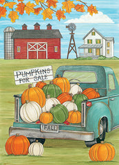 DS1753 - Pumpkins for Sale - 12x16