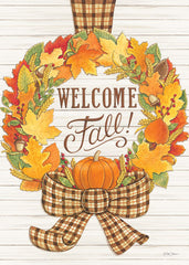 DS1764 - Welcome Fall Wreath - 12x16