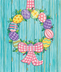 DS1815 - Easter Egg Wreath - 12x16