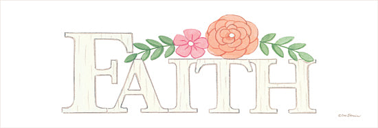 Deb Strain DS1840 - DS1840 - Faith -   18x6 Faith, Signs, Floral from Penny Lane