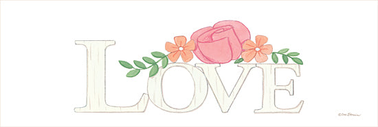 Deb Strain DS1841 - DS1841 - Love -   18x6 Love, Signs, Floral from Penny Lane