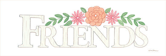 Deb Strain DS1842 - DS1842 - Friends -   18x6 Friends, Signs, Floral from Penny Lane