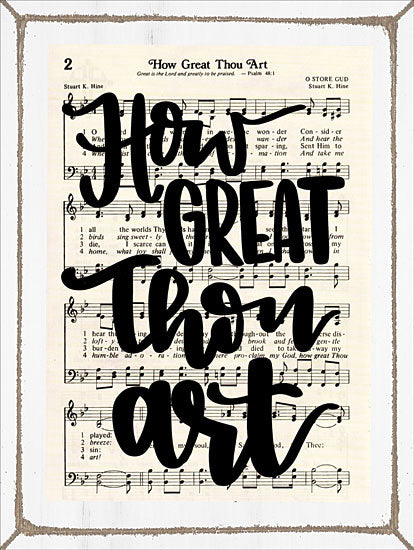 Imperfect Dust DUST133 - How Great Thou Art How Great Thou Art, Sheet Music, Song from Penny Lane