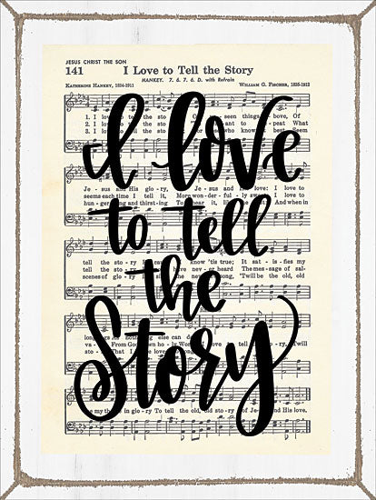 Imperfect Dust DUST139 - I Love to Tell the Story I Love to Tell the Story, Sheet Music, Song from Penny Lane