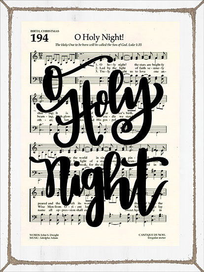 Imperfect Dust DUST140 - O Holy Night O Holy Night, Holidays, Sheet Music, Song from Penny Lane