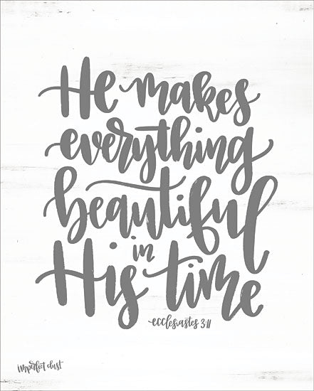 Imperfect Dust DUST185 - His Time Beautiful, His Time, Bible Verse, Ecclesiastes from Penny Lane