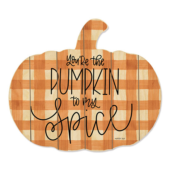 Imperfect Dust DUST226PUMP - Pumpkin Spice Pumpkin, Gingham, Orange, Love, Autumn from Penny Lane