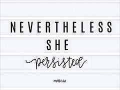 DUST285 - Nevertheless She Persisted - 16x12