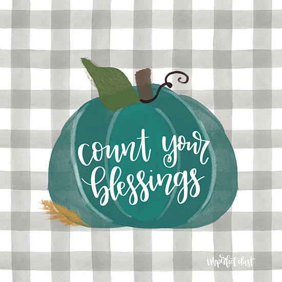 Imperfect Dust DUST371 - DUST371 - Count Your Blessing - 12x12 Count Your Blessings, Gingham, Pumpkins, Calligraphy, Signs from Penny Lane