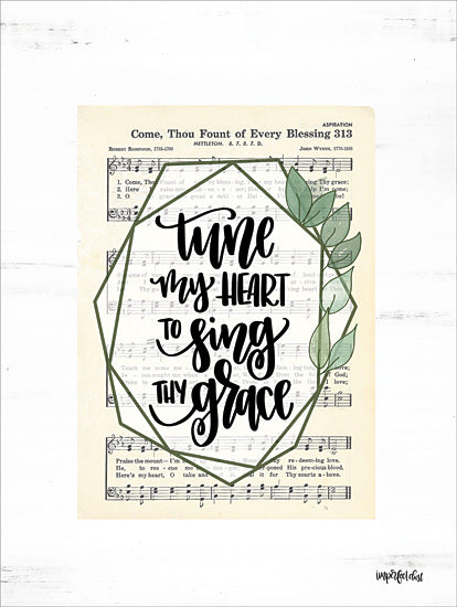 Imperfect Dust DUST445 - DUST445 - Tune My Heart II - 12x16 Tune My Heart, Sheet Music, Song from Penny Lane