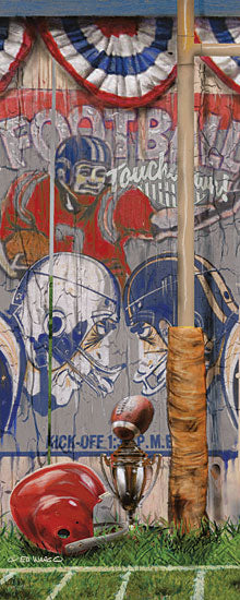 Ed Wargo ED374 - Football Touchdown - Football, Football Players, America, Goal Post from Penny Lane Publishing