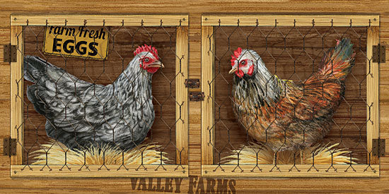 Ed Wargo ED387 - Chicken House Chickens, Chicken Coop, Fresh Eggs, Farm from Penny Lane