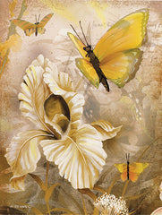 ED417 - Flower & Butterflies I - 12x16