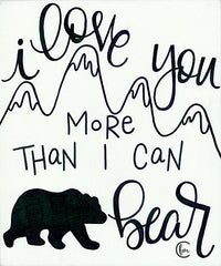 FMC109 - More Than I can Bear - 12x16