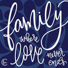 FMC148 - Love Never Ends - 12x12