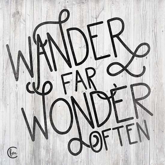 Fearfully Made Creations FMC175 - FMC175 - Wander - 12x12 Wander, Motivational, Signs from Penny Lane