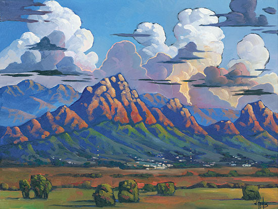 William Hawkins HAWK100 - The Heavens Declare… - 16x12 Landscape, Mountains, Clouds from Penny Lane
