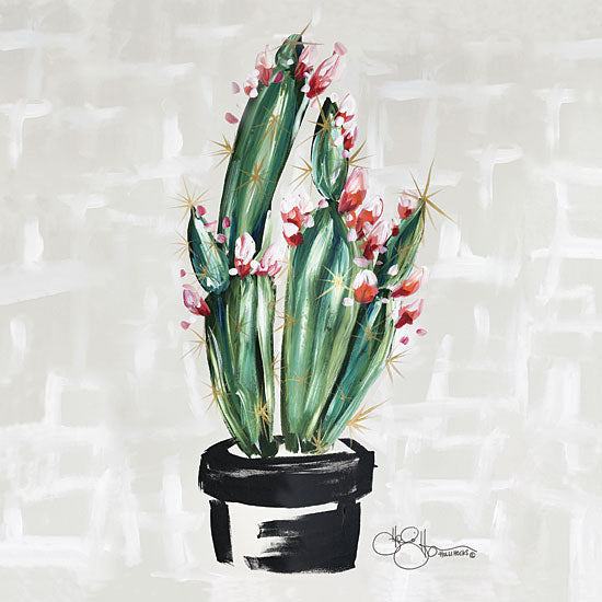 Hollihocks Art HH100 - Blooming Cactus - 12x12 Cactus, Blooming, Flowers, Blooms from Penny Lane