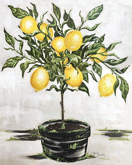 Hollihocks Art HH101 - Lemon Tree - 12x16 Lemon Tree, Lemons, Fruit, Kitchen, Topiary from Penny Lane