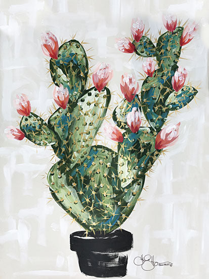 Hollihocks Art HH108 - Cactus - 12x16 Cactus, Blooming, Flowers, Blooms from Penny Lane