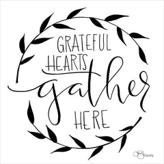 HH111 - Grateful Hearts Gather Here - 12x12