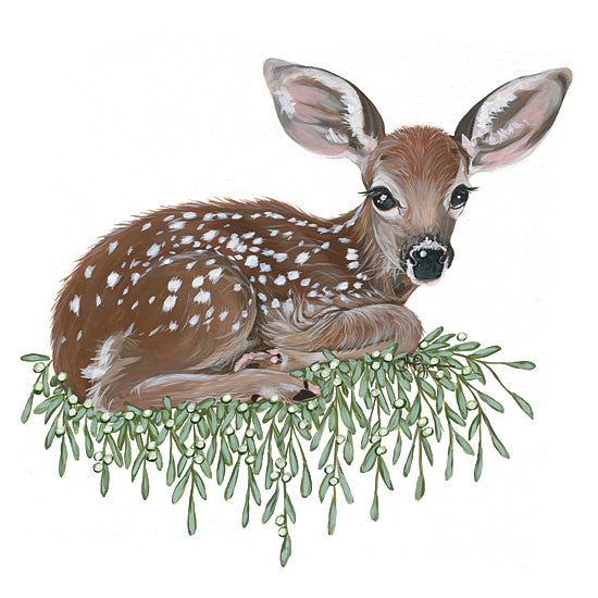 Hollihocks Art HH119 - HH119 - Fawn - 12x12 Fawn, Deer, Babies, Wildlife, Portrait from Penny Lane