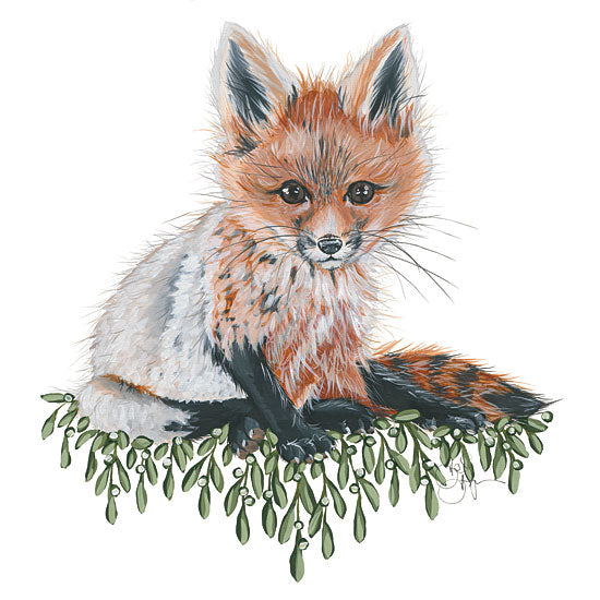 Hollihocks Art HH121 - HH121 - Baby Fox - 12x12 Fox, Pup, Cub, Baby, Wildlife, Portrait from Penny Lane