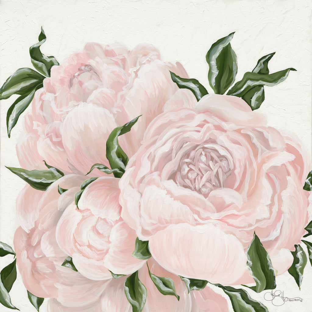 Hollihocks Art HH139 - HH139 - Pink Flowers - 12x12 Pink Flowers, Flowers from Penny Lane