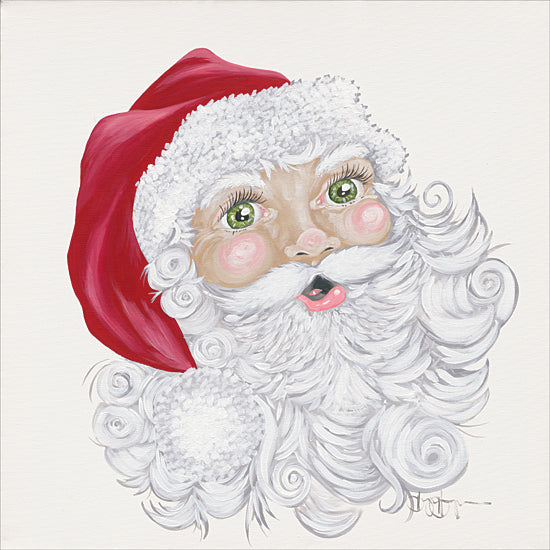 Hollihocks Art HH159 - HH159 - Green Eyed Elf - 12x12 Holiday, Christmas, Portrait, Santa Claus from Penny Lane