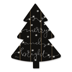 HH163TREE - Merry & Bright  - 14x18