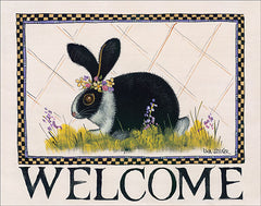 HILL681 - Bunny Welcome - 16x12