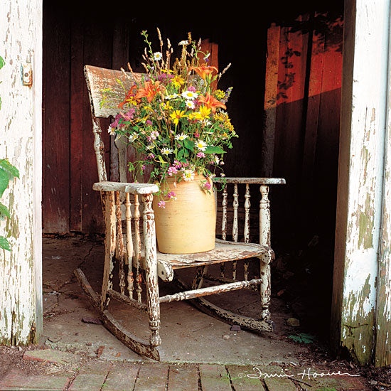 Irvin Hoover HOO104 - HOO104 - Shabby Chic - 12x12 Rocking Chair, Photography, Flowers, Crock, Vintage from Penny Lane