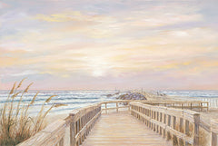 JAN239 - Ponce Inlet Jetty Sunrise - 18x12
