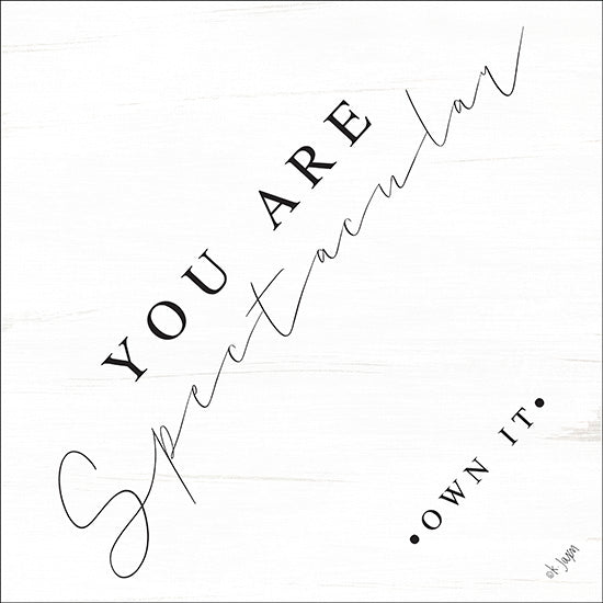 Jaxn Blvd. JAXN127 - You Are Spectacular Spectacular, Modern, Motivating, Signs from Penny Lane