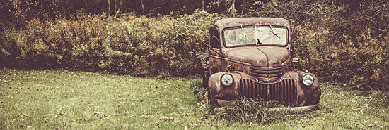 Justin Spivey JDS206 - Rusty Clearing - Car, Field, Antiques, Trees from Penny Lane Publishing