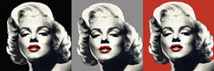 JGS158 - Marilyn Graphic Trio - 24x8