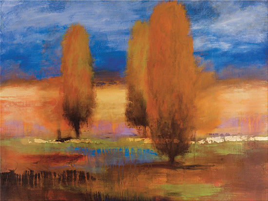JG Studios JGS288 - JGS288 - Trees - 16x12 Trees, Abstract, Landscape, Pond from Penny Lane