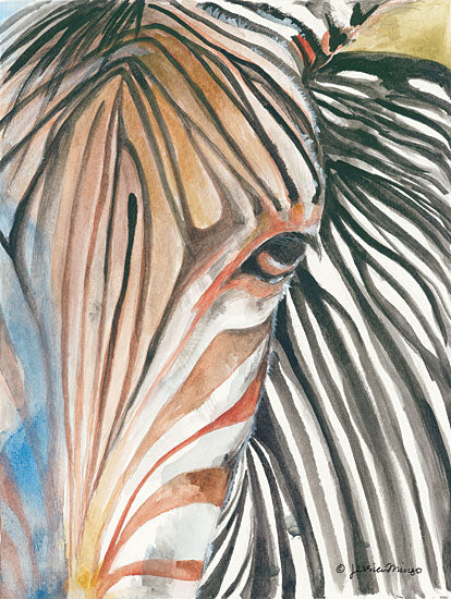 Jessica Mingo JM119 - Zebra Zebra, Abstract, Portrait from Penny Lane