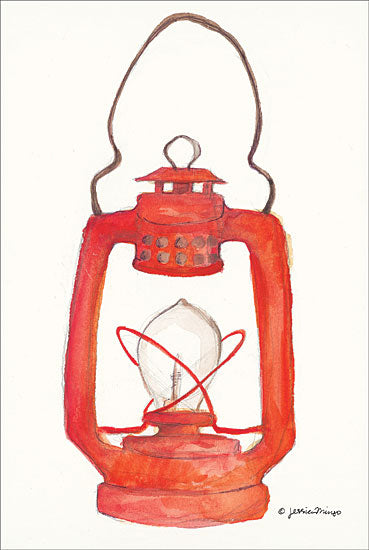 Jessica Mingo JM135 - Off on an Adventure Lantern, Camping, Light from Penny Lane