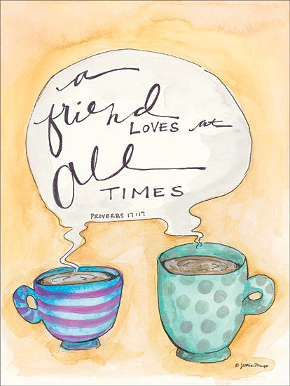Jessica Mingo JM139 - Kindred Spirits Friend, Coffee, Coffee Cups, Signs from Penny Lane
