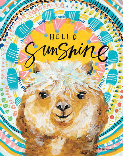 Jessica Mingo JM142 - Hello Sunshine Llama Hello Sunshine, Llama, Patterns, Abstract from Penny Lane