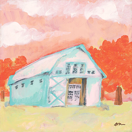 Jessica Mingo JM147 - Cherry Tree Barn Barn, Farm, Abstract, Trees from Penny Lane