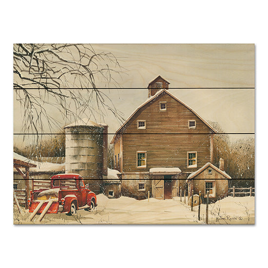 John Rossini JR361PAL - Clearing Out Farm, Barn, Winter, Snow, Truck from Penny Lane