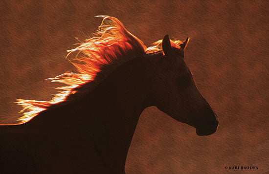Kari Brooks KARI112 - Golden Angel - 18x12 Photography, Horses, Portrait from Penny Lane